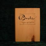 Buche Holzbuch schlicht