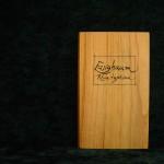 Essigbaum Holzbuch