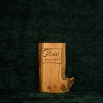 Flieder Holzbuch