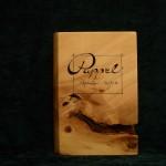 Pappel Holzbuch bewegt