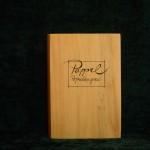 Pappel Holzbuch schlicht