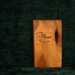 Pflaume Holzbuch