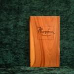 Pflaume Holzbuch bewegt