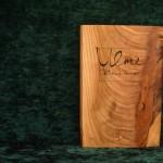 Ulme Holzbuch bewegt