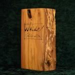Weide Holzbuch schraeg