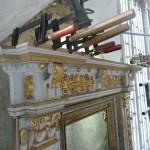 Dom Bautzen, Epitaph Mättig, Holzarbeiten. Detailansicht