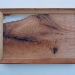 Holzbild Roteiche