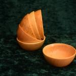 Holzschalen klein Variation