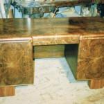 Schreibtisch 1934 nach Restaurierung