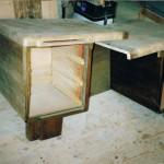 Schreibtisch 1934 vor Restaurierung