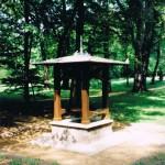 Ziehbrunnenhaus im Park