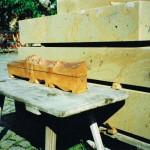 Dosen - drei aus einem Stück Holz