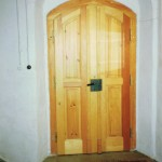 Haustür zu einem sächsischen Bauernhaus von 1781, Neuanfertigung