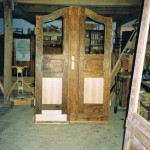 Tür einer Jugendstilvilla, Restaurierung