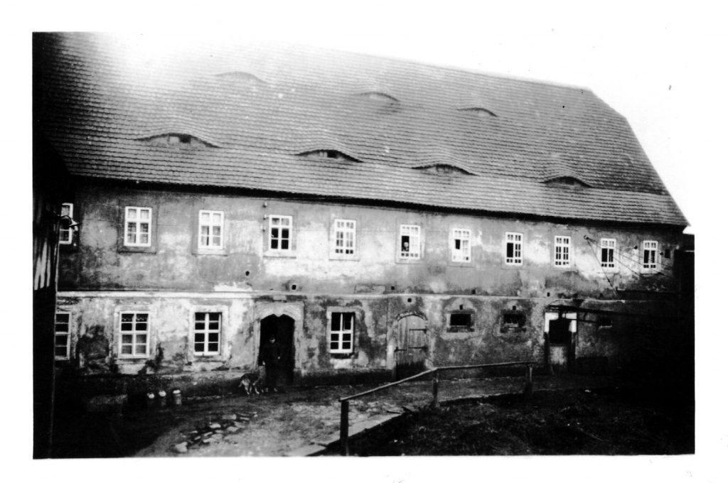 Alte Fotographie des Wohnhauses von ca. 1932
