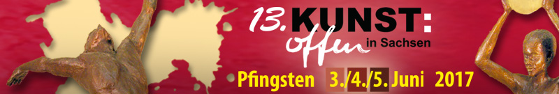 Logo für KUNST:offen in Sachsen 2017