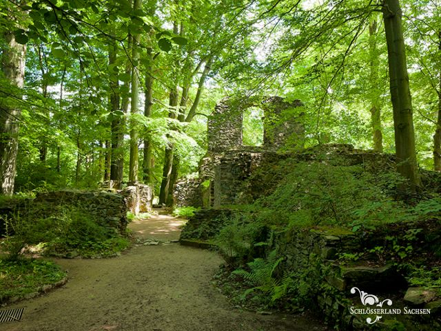 Ruinen des Klosterpark Altzella
