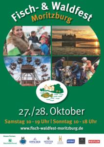 Flyer für das Fisch- und Waldfest Moritzburg 2018