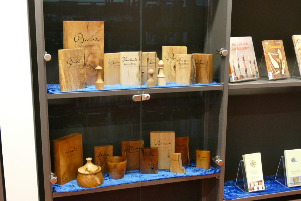 Bilder der Ausstellung in der Zentralbibliothek